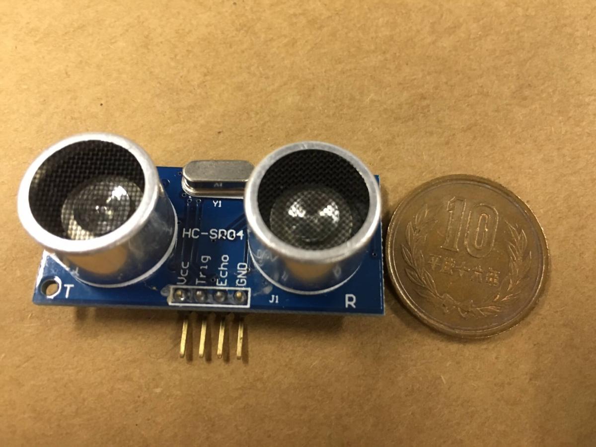 超音波距離センサーHC-SR04