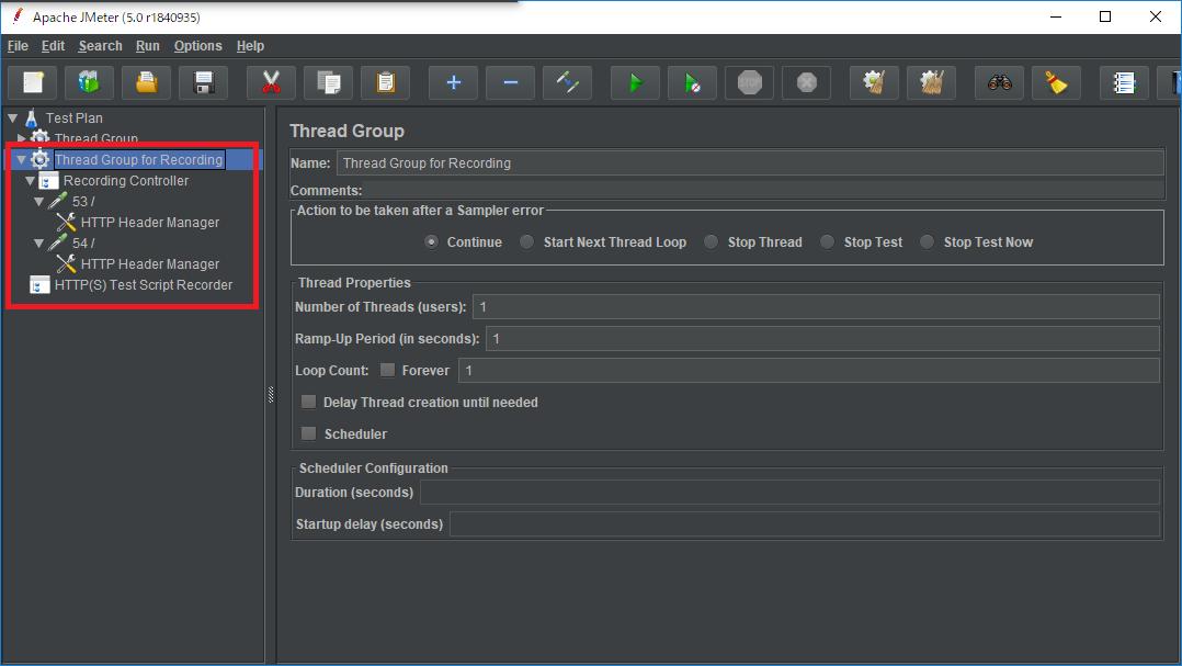 ブラウザで遷移したページを記録し、リクエストの内容を確認する