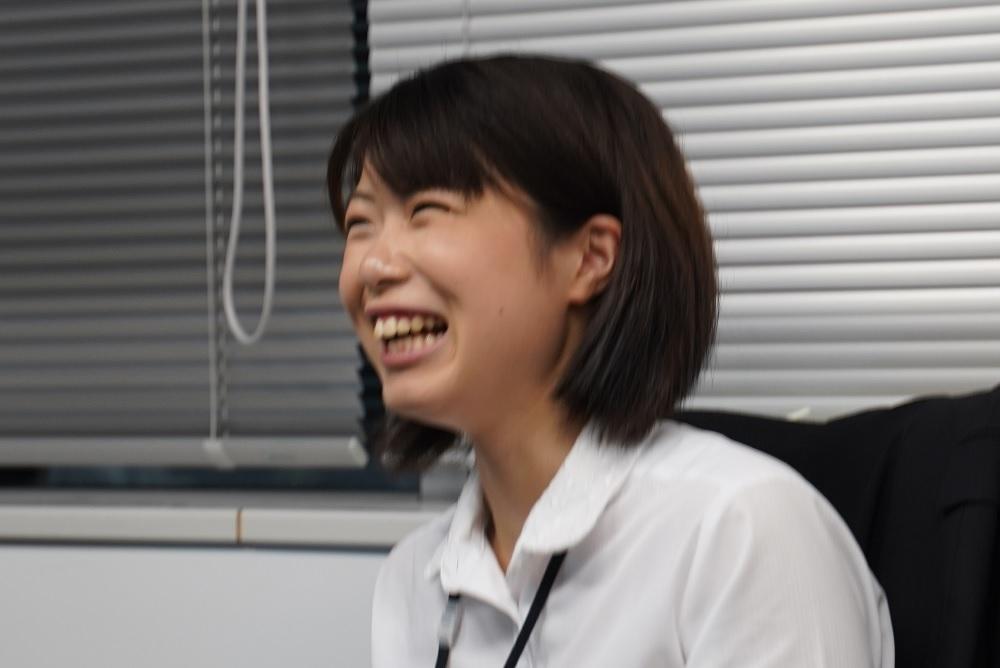 リスナーの良い笑顔