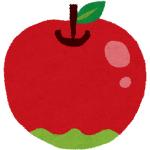一個売りしているリンゴ