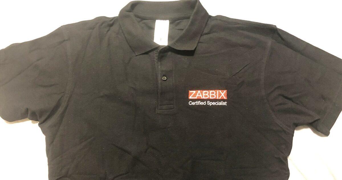 Zabbix Certified Specialist ポロシャツ